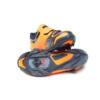 MTB kerékpáros cipő - narancs-fekete